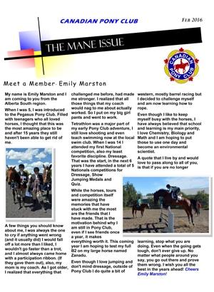 Mane Issue Feb 2016