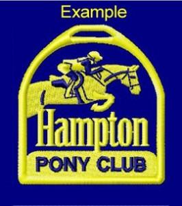 Hampton Pony Club crest