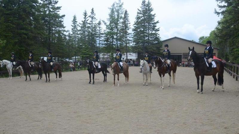 June horse show