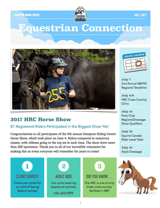 Equestrian Connection July 2017