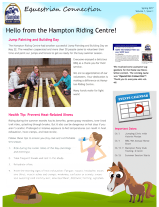Equestrian Connection Spring 2017